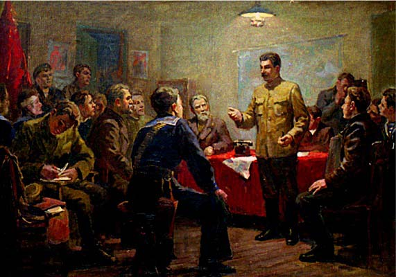Stalin as an Organiser of the October Revolution
