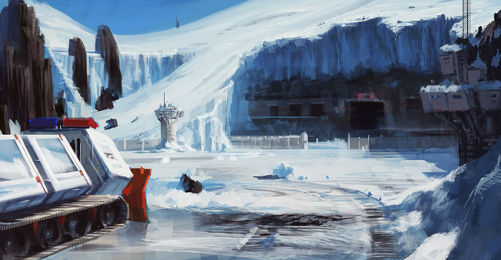 EOW 124: Kryztaliss Prison, ice planet